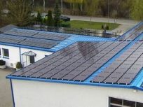 PV panels on roof